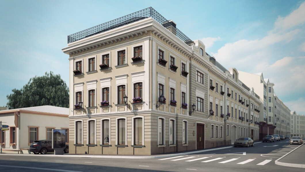 ЖК Palazzo Остоженка, 12 (Палаццо Остоженка, 12)